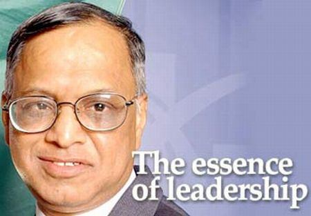 narayan murthy leadership Ok so i had an interesting thought i haven't read too much about nrn's style of leadership or any of his books here's my question to all the rodinhooder's.